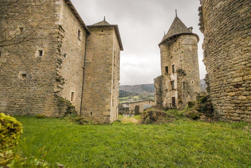 Sur Tartaronne de Saint Saturnin, França fotografia de stock