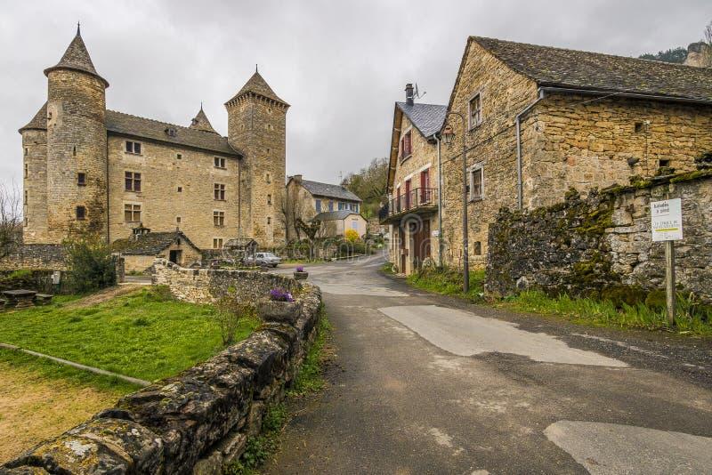 Sur Tartaronne de Saint Saturnin, França imagem de stock