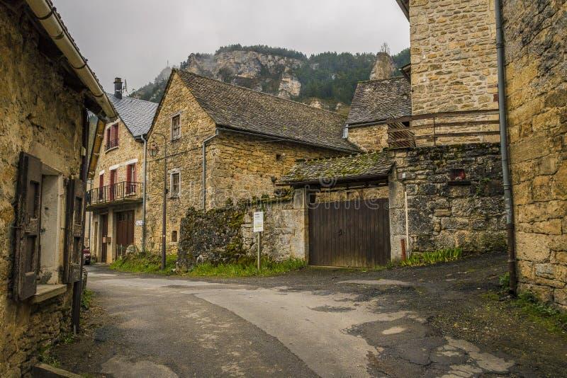 Sur Tartaronne de Saint Saturnin, França fotos de stock royalty free