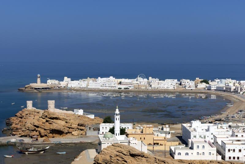 Sur town near Muscat, Oman stock photos