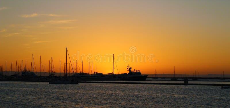 Sur Yatchs Baja California lizenzfreie stockbilder