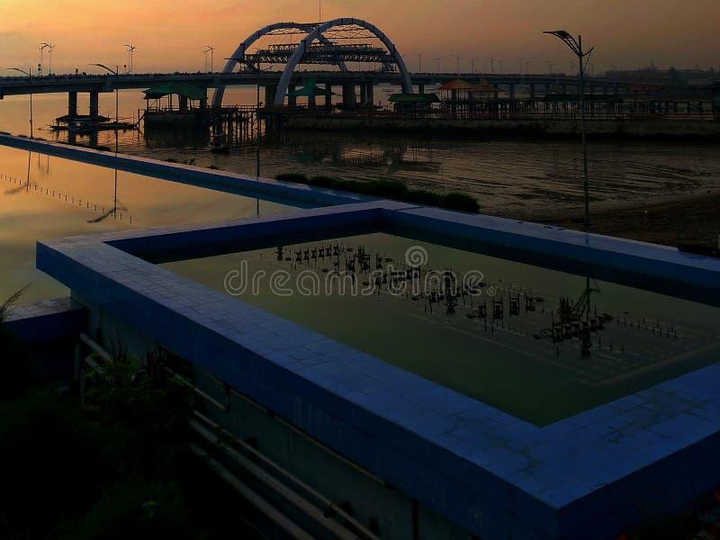 Surabaya-Brücke lizenzfreie stockfotografie