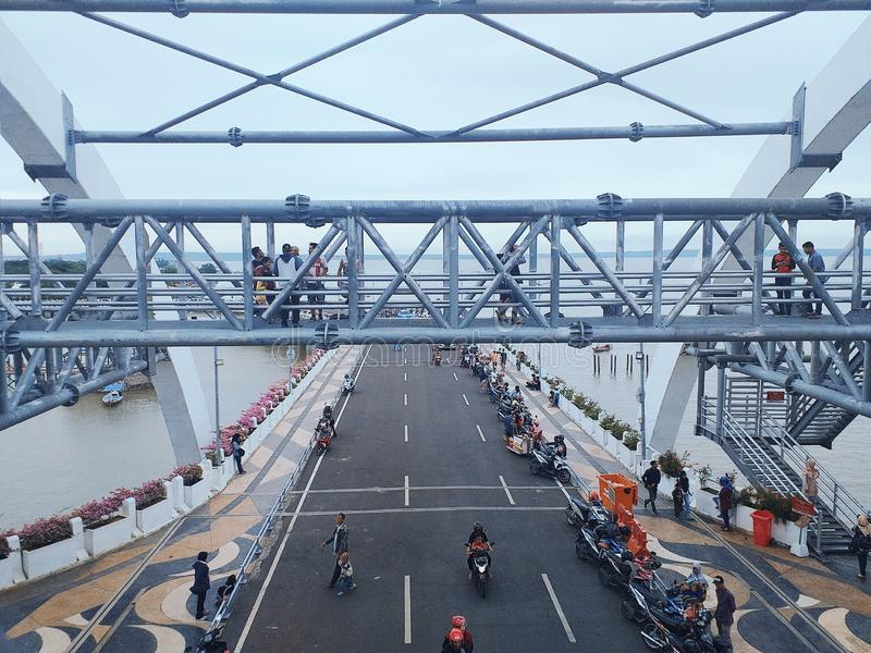 Surabaya-Br?cke lizenzfreies stockfoto