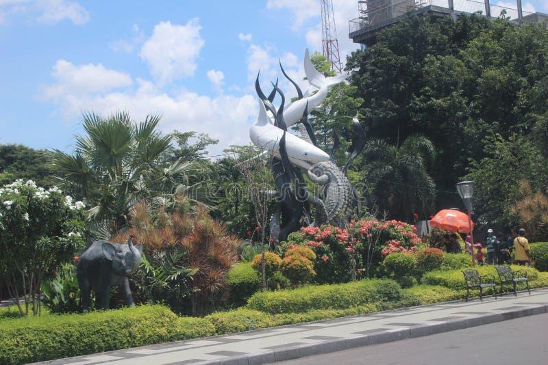 Surabaya Icon Park Indonesia royalty free stock images