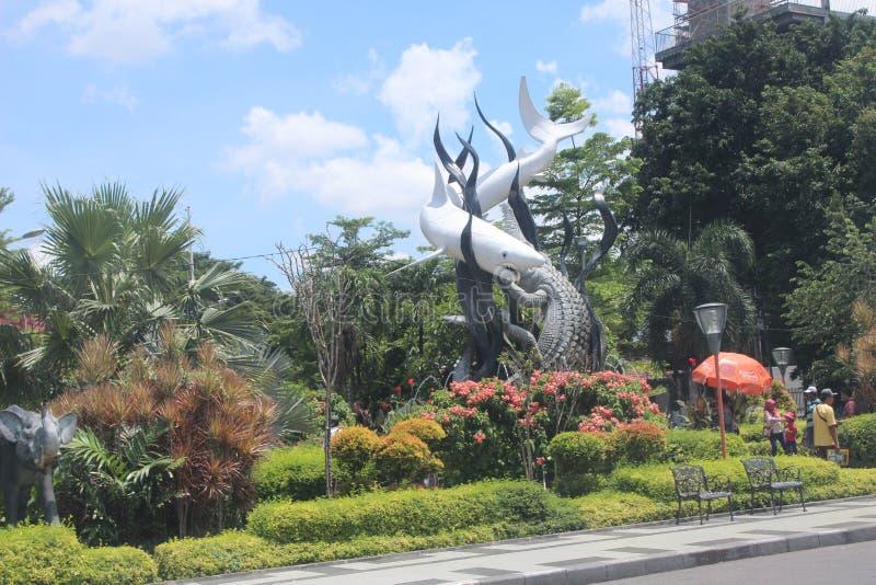 Surabaya Icon Park Indonesia royalty free stock photo