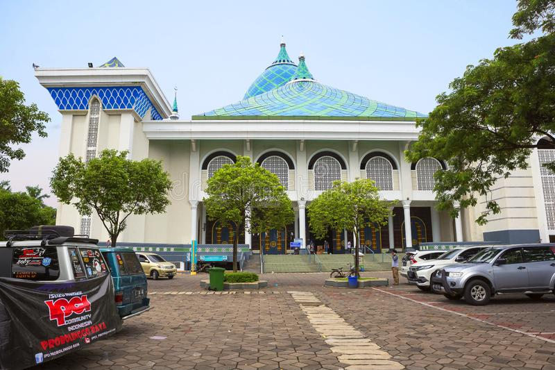 Surabaya, Indonesien, Al Akbar-Moschee stockbild