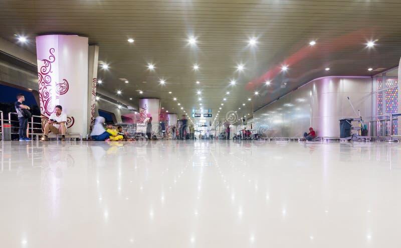 SURABAYA, INDONESIEN - 25. März 2016: Internationaler Flughafen Surabayas Juanda - intierior Surabaya, Osttimor lizenzfreies stockfoto