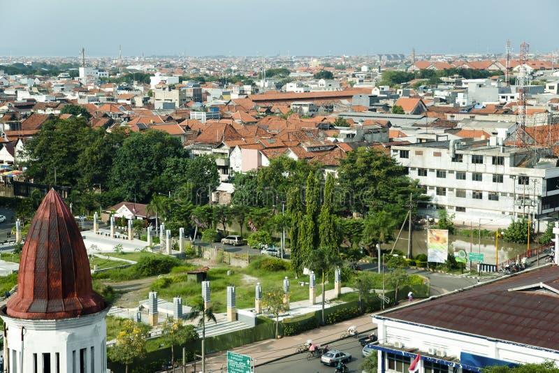 Surabaya, Jawa, Indonezja - obraz stock