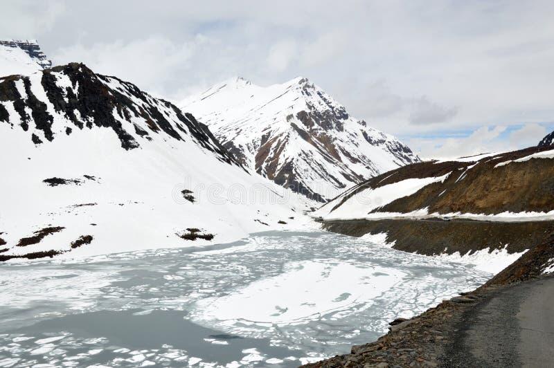 Suraj Taal Lake imagen de archivo libre de regalías