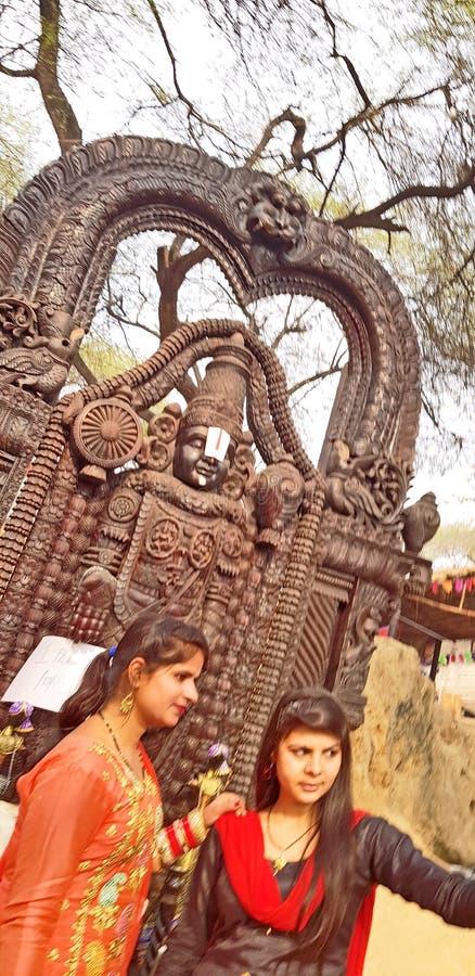 Surajkund hace a Mela Fair a mano fotos de archivo