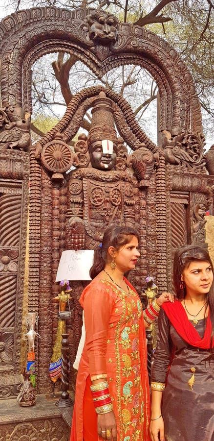 Surajkund hace a Mela Fair a mano imagen de archivo