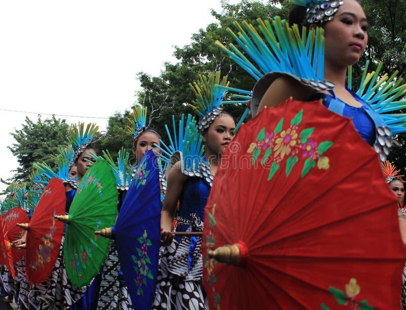 Surakarta-Karneval lizenzfreies stockfoto