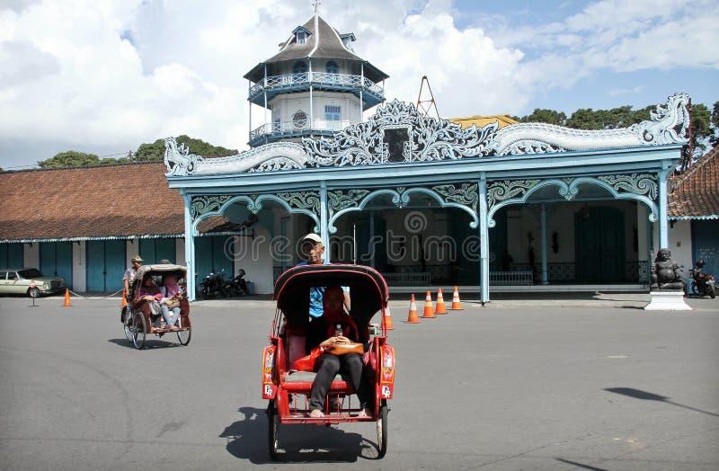 Surakarta slott royaltyfria bilder