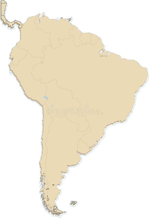 Suramérica libre illustration
