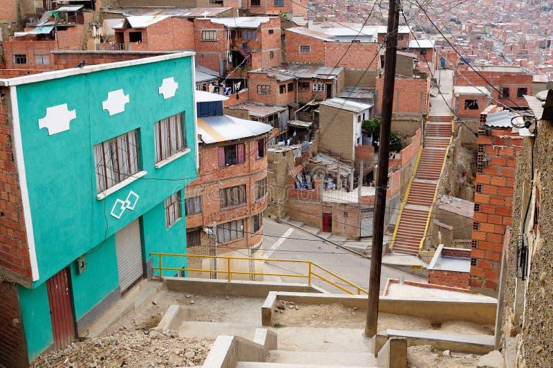 Suramérica, Bolivia, La Paz foto de archivo