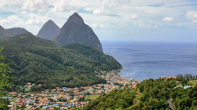 Suramérica y el Caribe 2017 foto de archivo libre de regalías