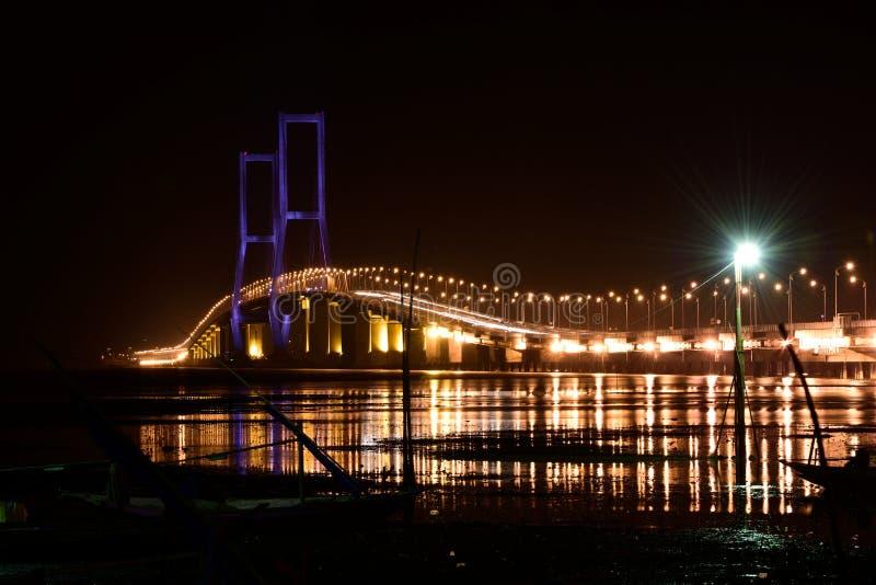 Suramadu-Brücke stockbild