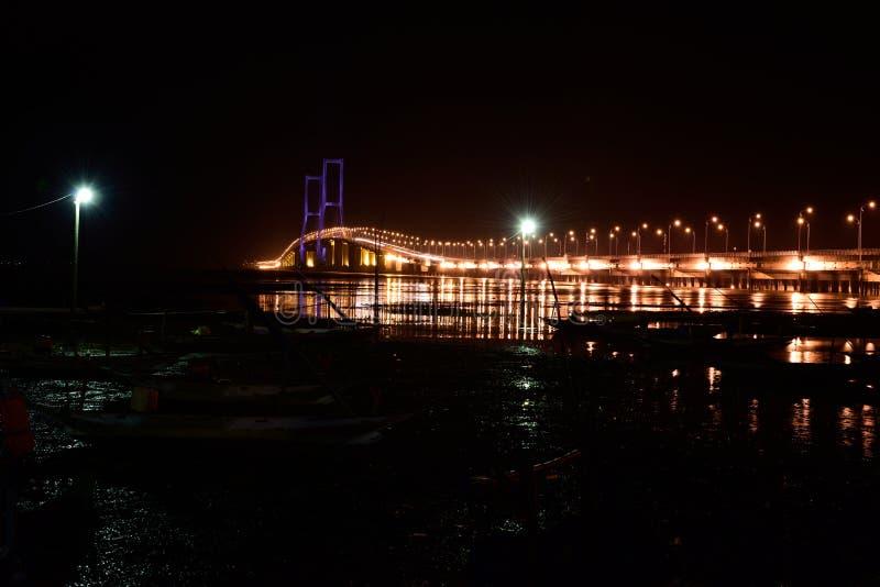 Suramadu-Brücke stockfotografie