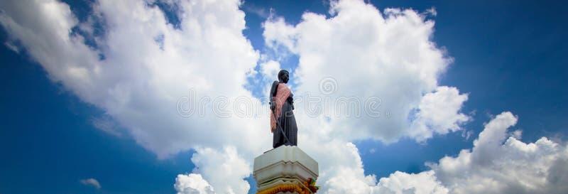 Suranaree纪念碑 免版税库存图片
