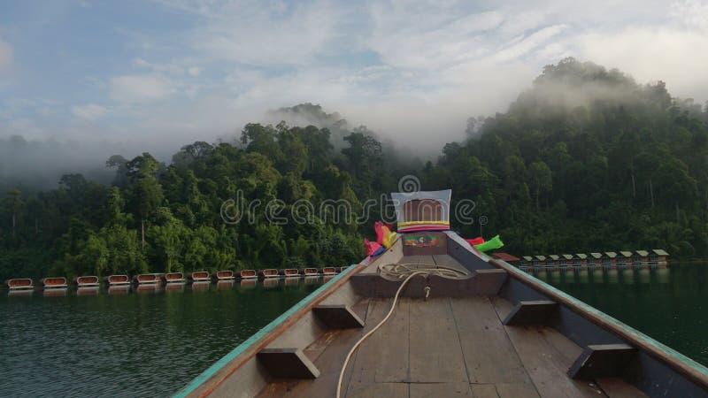 Suratthani del lago Buatiful fotografie stock libere da diritti