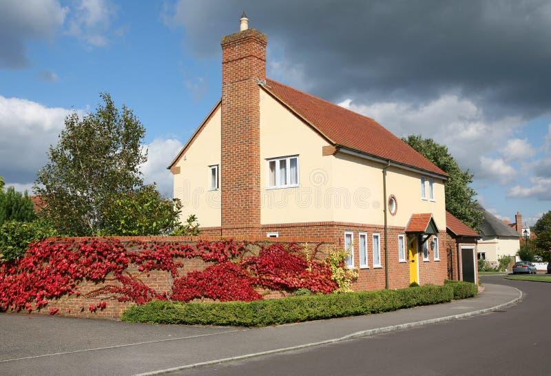 surburban housing royaltyfri bild