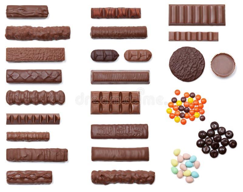 Surcharge de chocolat photo libre de droits