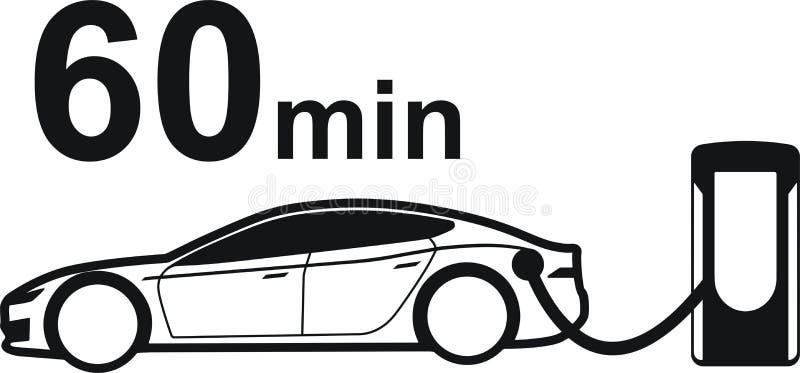 Surchauffeur de Tesla illustration stock
