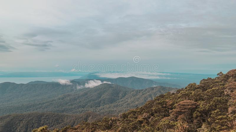 The Best Theraphy. For sure, universe is always suprised me. Escpecially mountain, the most creation of God. My best theraphy royalty free stock image
