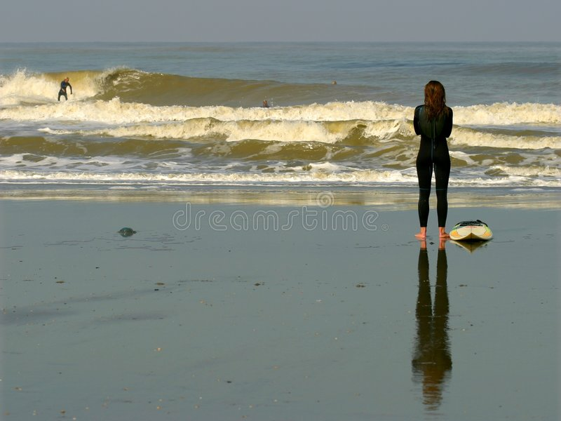 Download Surf stock photo. Image of beach, surf, girl, nord, water - 46214