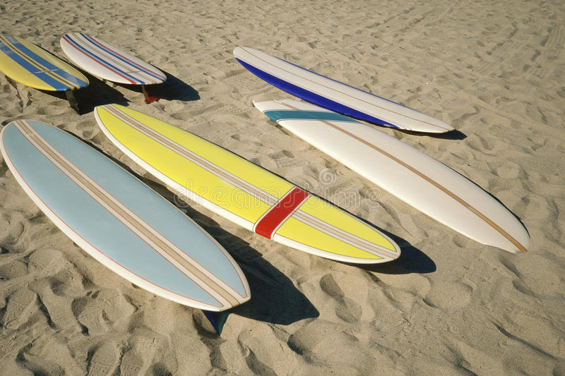 Download Surf boards on sand stock photo. Image of multicolored - 23161296