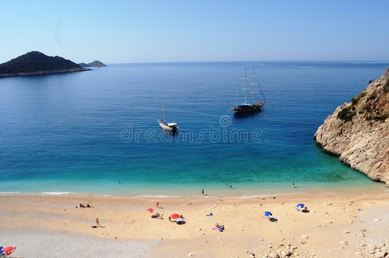 Surf center Alacati, Turkeys most beautiful holiday destinations. Clean sea and wind noise is always stock images