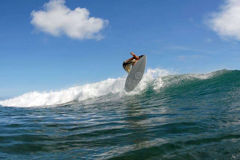 Surf chop hop air stock photography
