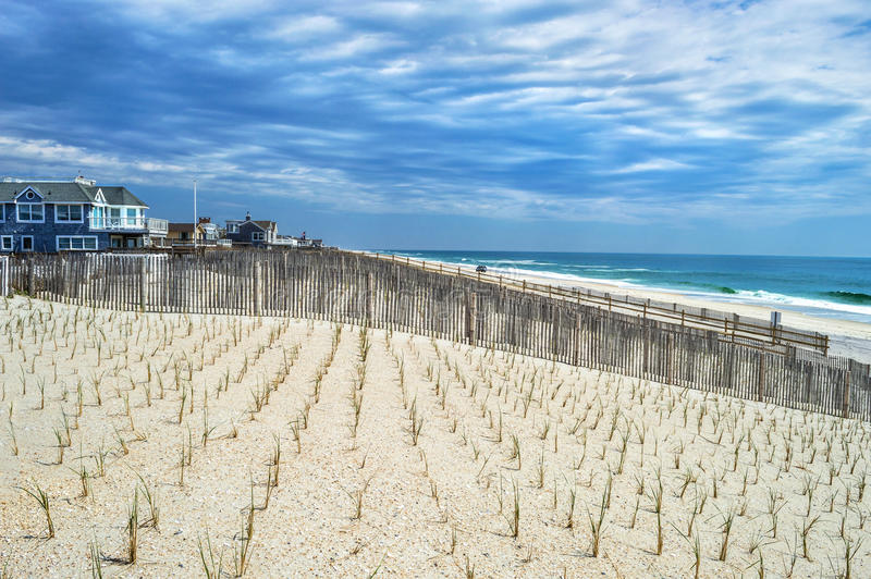 Download Surf City View stock photo. Image of fence, blue, jersey - 40407738