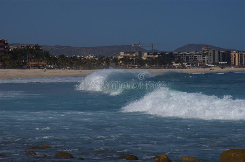 Download Surf At Costa Azul Los Cabos Mexico 1 Stock Image - Image: 9293865