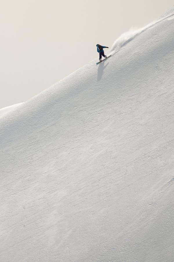 Surf des neiges images libres de droits