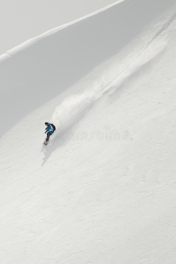 Surf des neiges photos stock