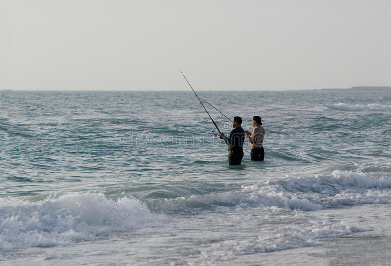 Download Surf fishing editorial image. Image of pole, fishermen - 23796295