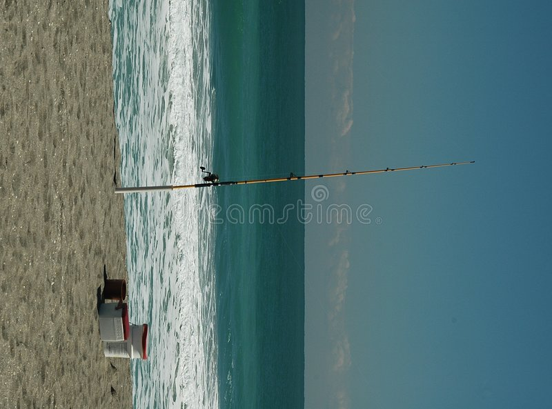 Download Surf Fishing stock image. Image of sport, surf, waves, fishermen - 511975