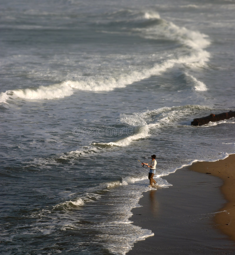 Download Surf Fishing stock image. Image of waves, hobby, focus - 794375