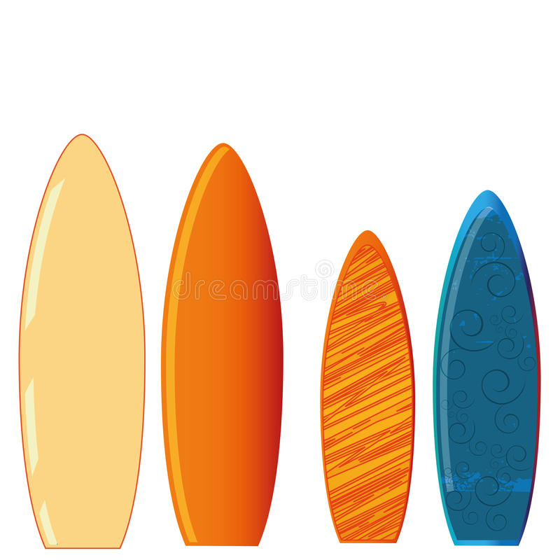 Download Surf stock vector. Image of holiday, summer, decorative - 36080848