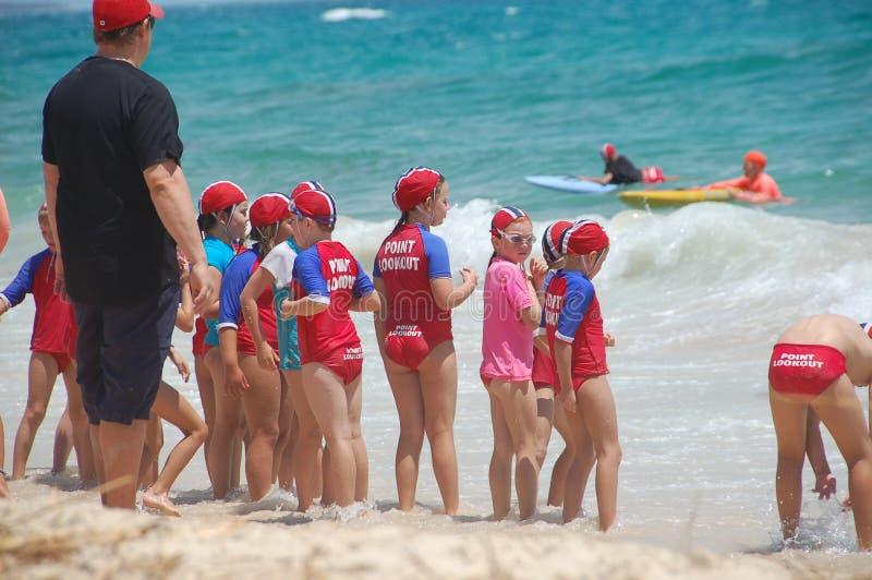 Surf Life Saving Australia royalty free stock image