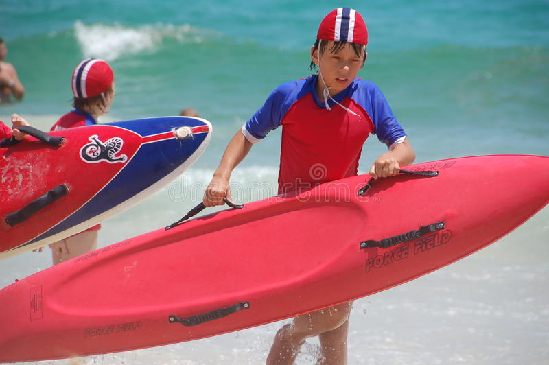 Surf Life Saving Australia royalty free stock images