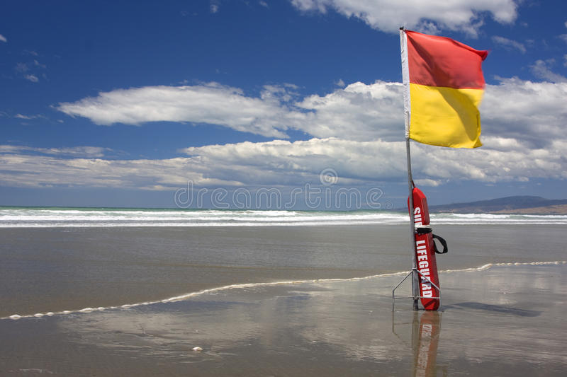 Surf Lifeguard Royalty Free Stock Images