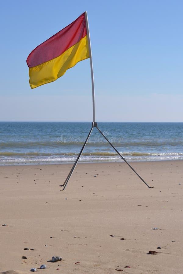 Download Surf lifesaving flag stock image. Image of vacation, swimming - 26638335
