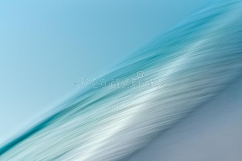 Surf. Line Art, Abstract Background Seascape royalty free stock image
