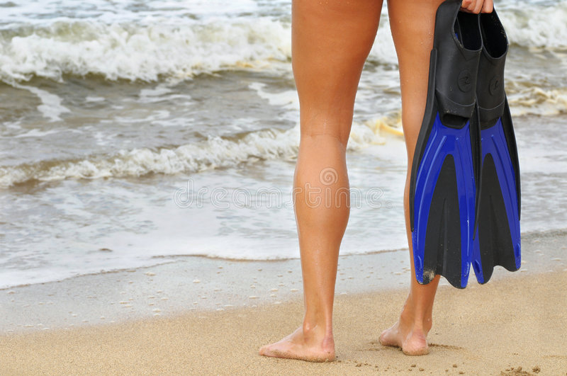 Download Surf ready stock image. Image of ready, sand, legs, grip - 7369437