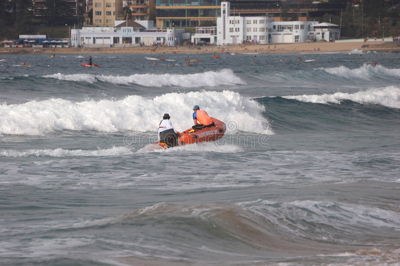 Surf Rescue royalty free stock photography