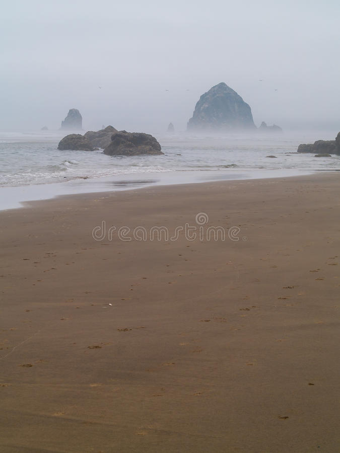 Download Surf Rolling In On A Rocky Beach Stock Photo - Image: 34887334
