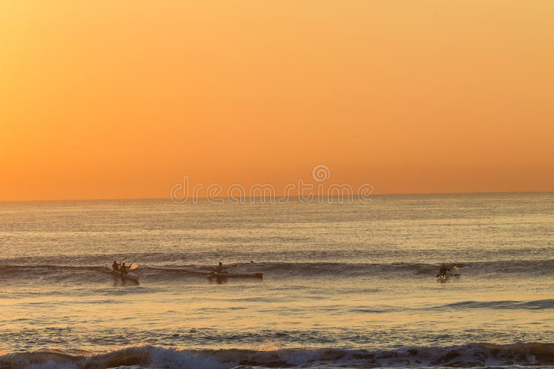 Download Surf-Ski Paddlers Riding Waves Editorial Photography - Image: 30884937