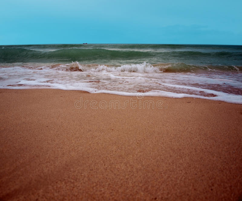 Surf at south beach royalty free stock photos